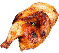 Order 1/2lb Peri Peri Chicken with Maxs Pizza and Peri Peri